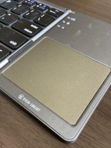 Bluetoothキーボード ewin タッチパッド