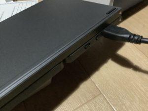 Bluetoothキーボード ewin 充電ケーブル