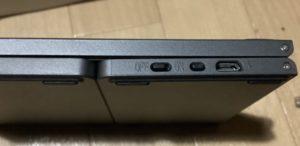 Bluetoothキーボード ewin 充電口