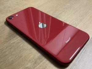 新型iPhoneSE レッド 画像
