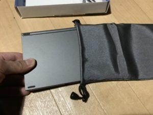 Bluetoothキーボード ewin 収納